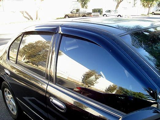 4pcs Dark Smoke Out-Channel Visor Rain Guards For Buick Regal 2011-2017