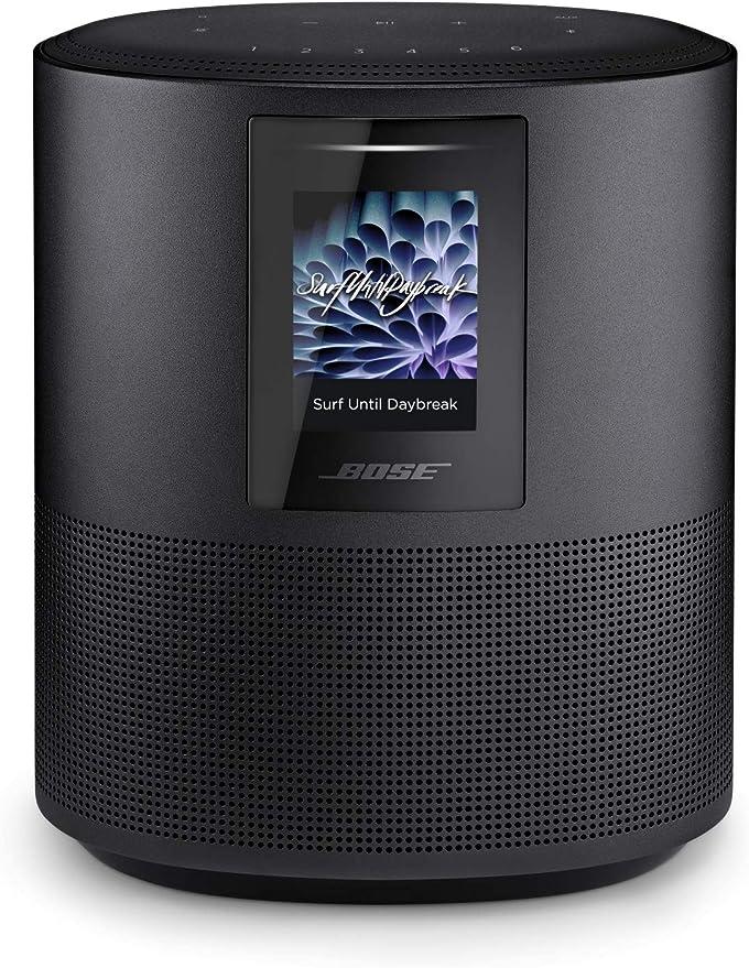 Bose - Home Speaker 500, sonido estéreo, con Alexa integrada, triple negro: Amazon.es: Electrónica