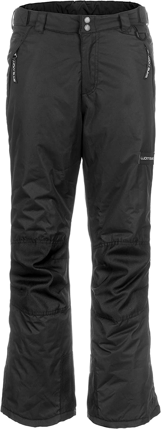 Lucky Bums Kids Ski Snow Pants,  Reinforced Knees and Seat