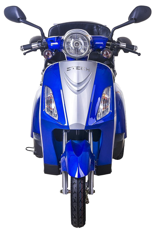 Lunex Scooter Electrico Movilidad Reducida Triciclo/Scooter RECREATIVO Minusvalido Mayores 3 Ruedas Adulto con Asiento hasta 25km/h 48V 80AH 500W Azul: ...