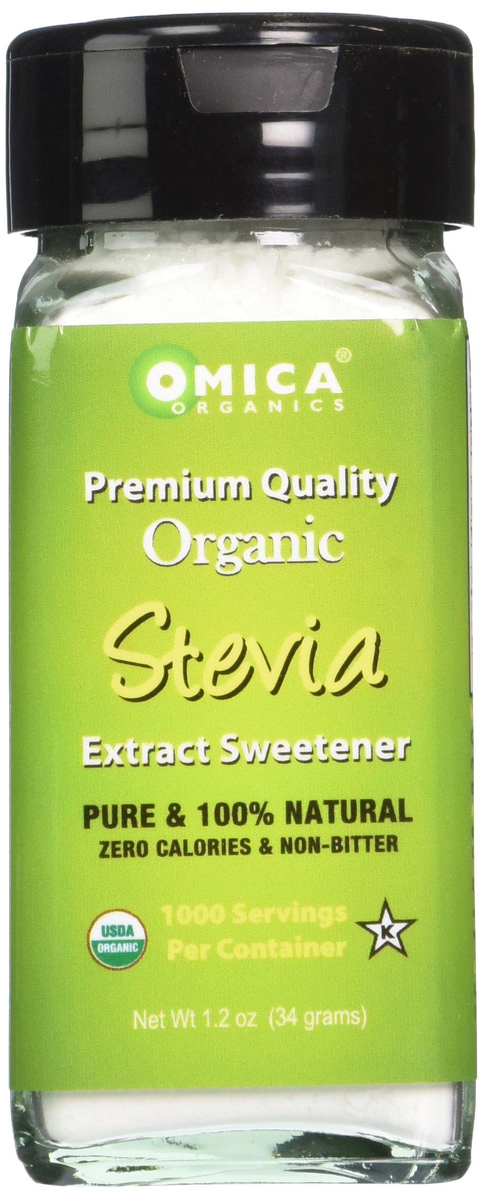 Omica Organics Stevia Extract Sweetener Powder (1.2 oz)
