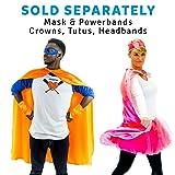 Everfan Men's Polyester Satin Superhero Cape