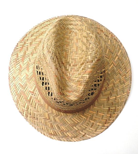 0bc896c85 Straw hat, men's hat / women's hat, size 55 - 63 XXL, straight brim ...