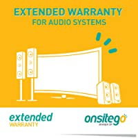 OnsiteGo 1 Year Extended Warranty for Audio Systems (Rs. 0 to 5,000)