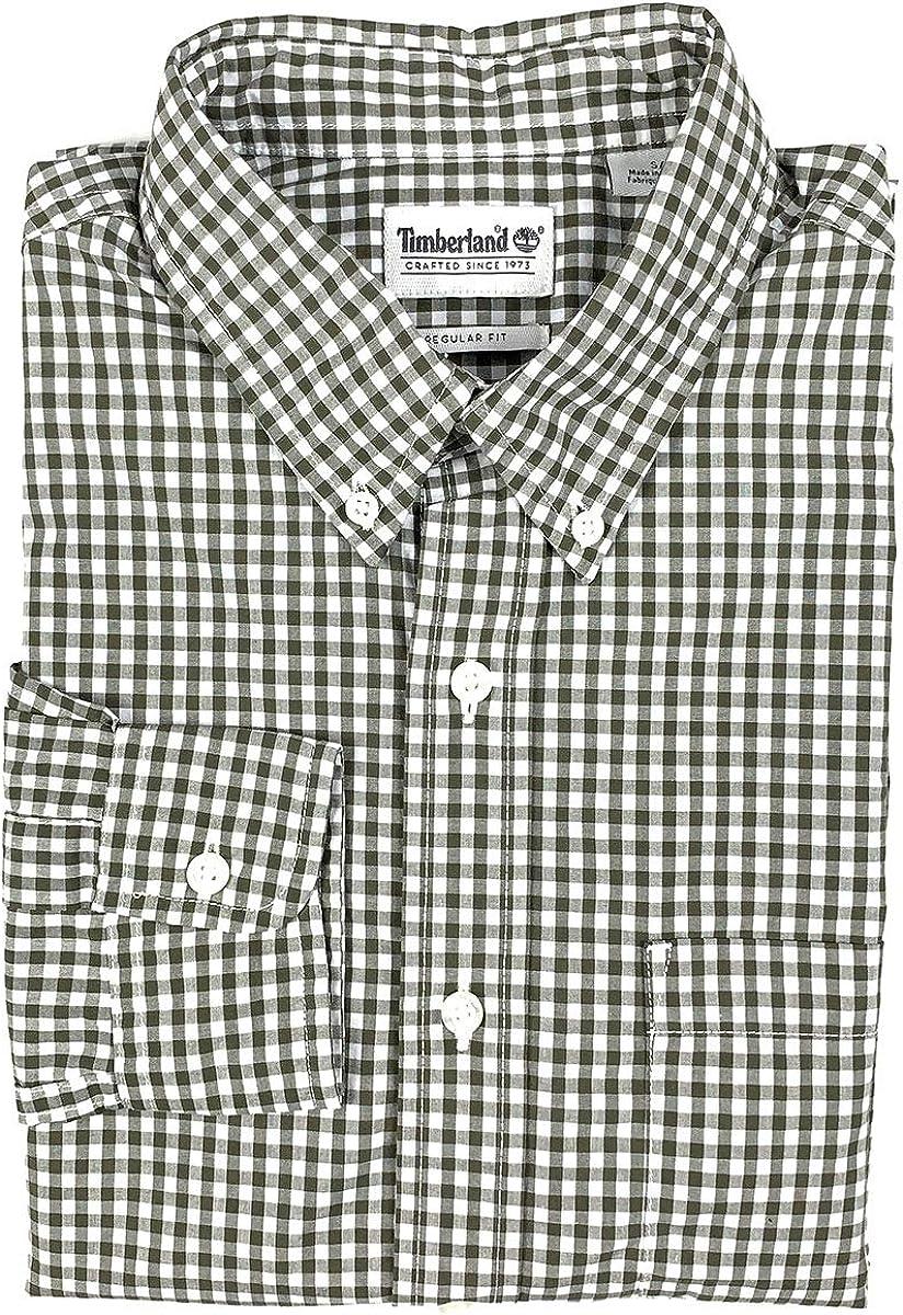 Timberland Gale River Camisa de Manga Larga con Botones para Hombre - Verde - Medium: Amazon.es: Ropa y accesorios
