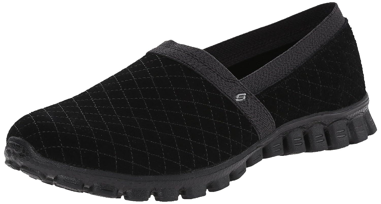 Skechers Sport Women's EZ Flex Tweetheart Slip-On Sneaker B00TGY2YHI 7.5 B(M) US|Black