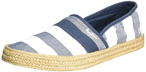 Mens Sailor Print Espadrilles Pepe Jeans London LnwKTy