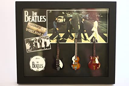 rgm8836 Beatles Abbey Road colección de guitarra en miniatura en ...