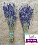 """Findlavender - Culinary Lavender Bundles - 10"""" - 12"""" Long - Can Be Used for Any Ocassion - 2 Bundles"""