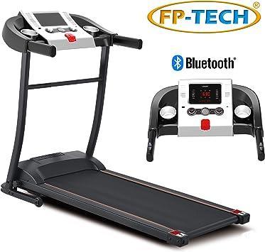 Fp Tech Tapis Roulant Electrique 1 Hp 1000 W Haut De Gamme Avec Bluetooth Application Lecteur Mp3 Et Usb Amazon Fr Sports Et Loisirs