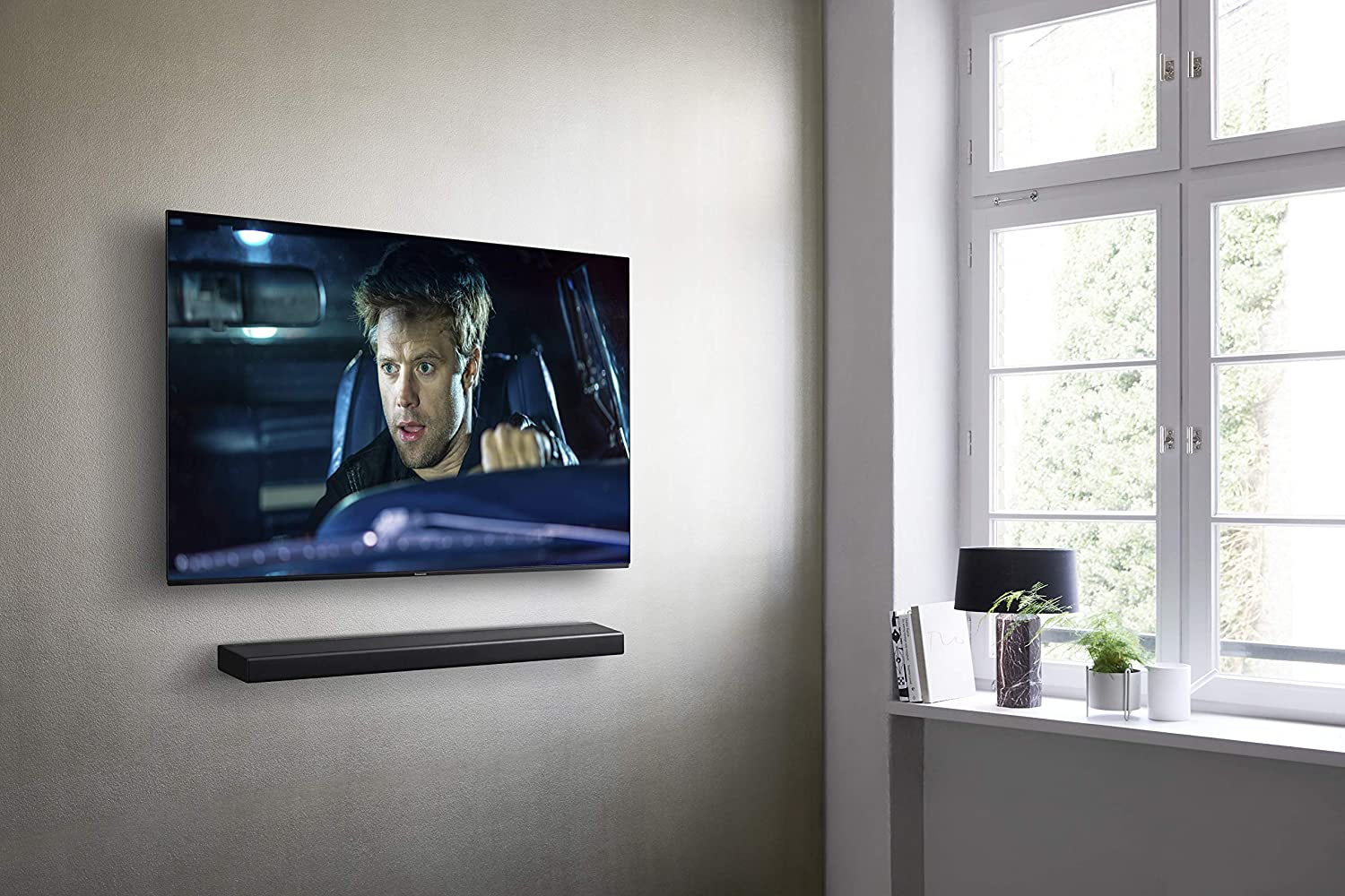 Panasonic SC-HTB188EGK - Barra de Sonido 188.18 All-In-One con
