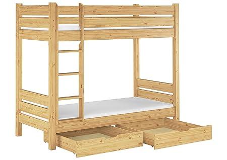 Stabiles Etagenbett Für Erwachsene : Erst holz etagenbett für erwachsene teilbar rollroste