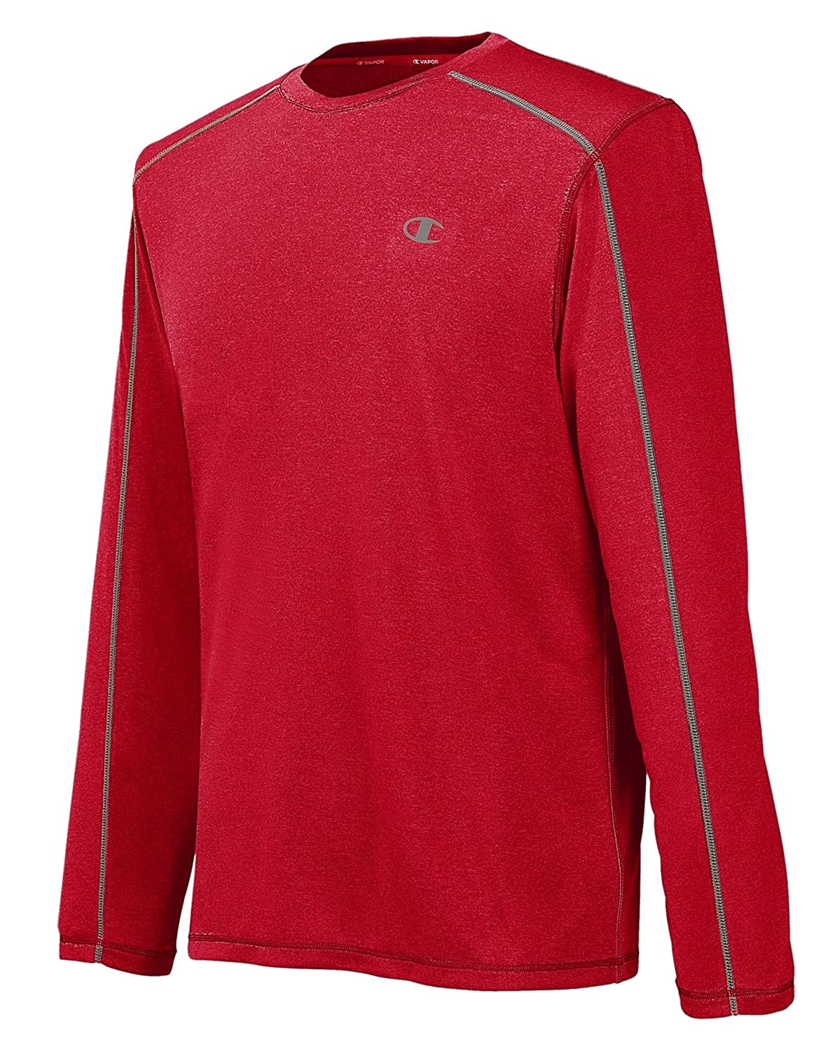 4fca3917 Champion Men's Powertrain Heather Long-Sleeve T-Shirt: Amazon.in: Clothing  & Accessories