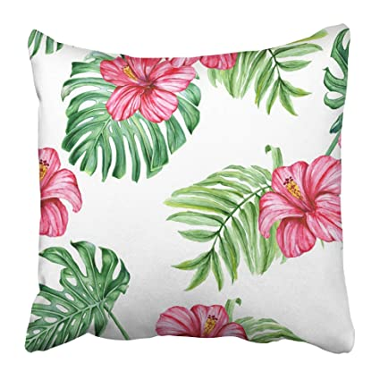 Amazoncom Emvency Decorative Throw Pillow Covers Cases Red Leaf