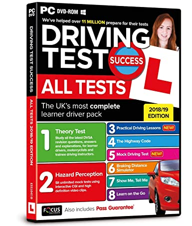 Driving Test Success All Tests Pc Focus Multimedia Amazoncouk