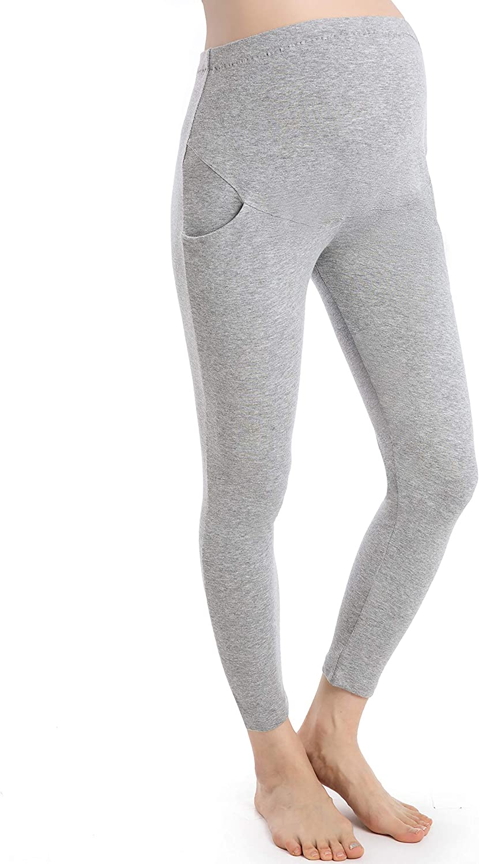 Pregnancy Pants Women Full Length Maternity Leggings Over Bump Pregnant Trousers