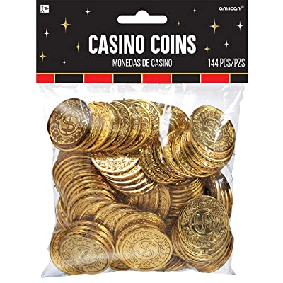 Casino Party Gold Coins, 144 Ct.: Kitchen & Dining
