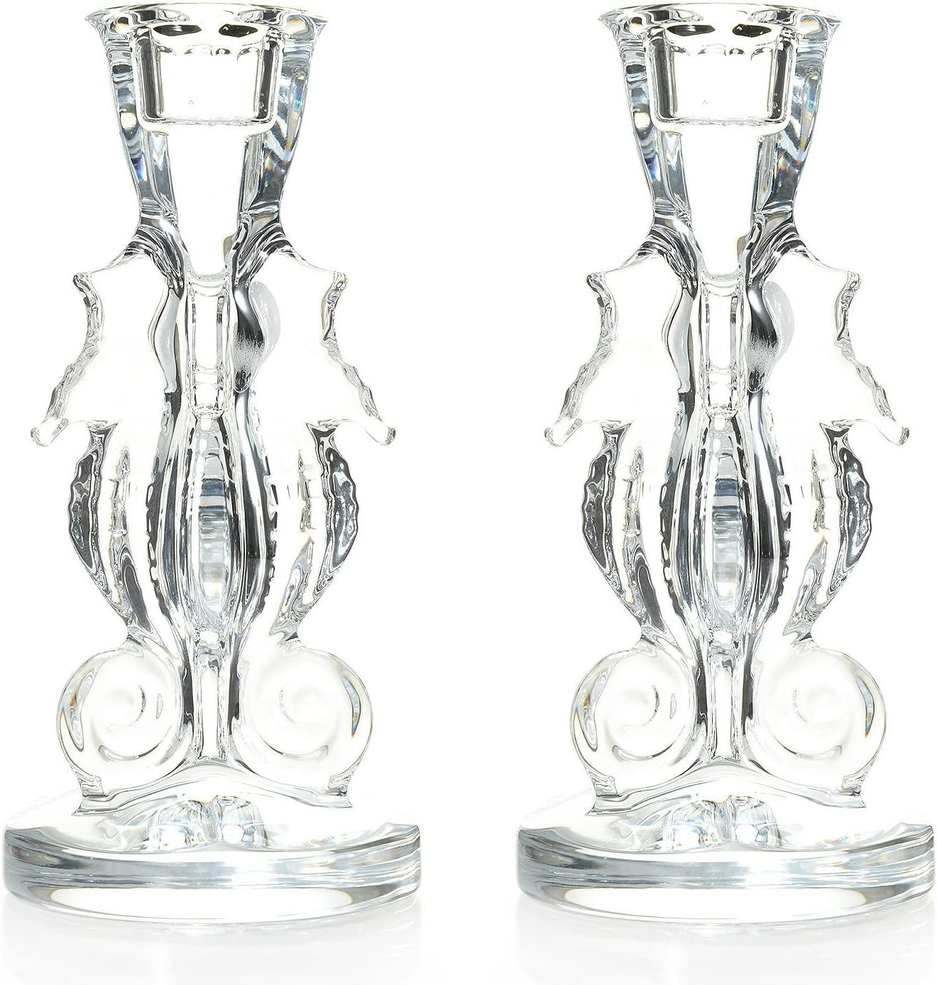 Waterford Crystal Seahorse Set of Two 6