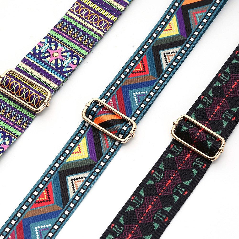 YsinoBear 2 Wide Replacement Shoulder Strap with Swivel Hook Vintage Crossbody Handbags Straps