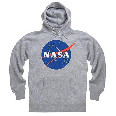stile classico del 2019 prezzo migliore vendibile Official NASA White Logo Felpa con Cappuccio, Uomo
