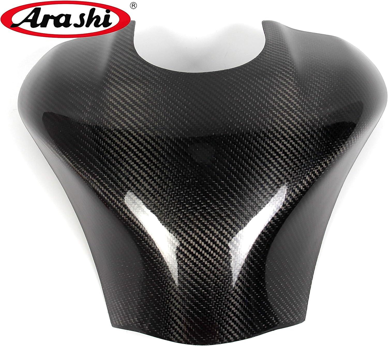 Arashi For Kawasaki Ninja ZX10R 2011-2015 Carbon Fiber Fuel Gas Tank Cover Protector Guard Motorcycle Accessories ZX-10R ZX 10R 2012 2013 2014