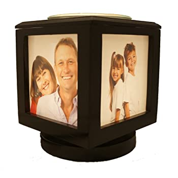 Amazon Com Lucite Desktop Cube Photo Frame For 6 Photos
