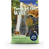 Taste of the Wild High Protein Real Meat Recipes Premium Dry Cat Food with Superfoods and Nutrients Like Probiotics, Vitamins