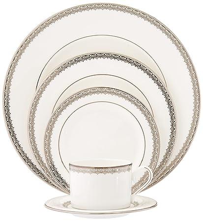 Lenox Lace Couture 5-Piece Dinnerware Set, Service for 1