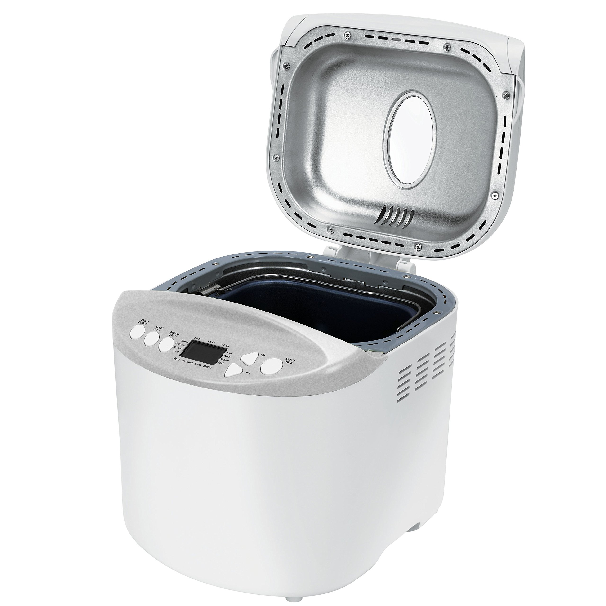 Oster Expressbake Bread Maker with Gluten-Free Setting, 2 Pound, White (CKSTBR9050-NP) by Oster (Image #2)