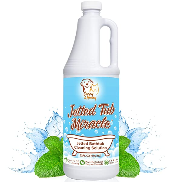 Amazon.com: Jetted Tub Miracle - Jet Bath System Cleaner for ...