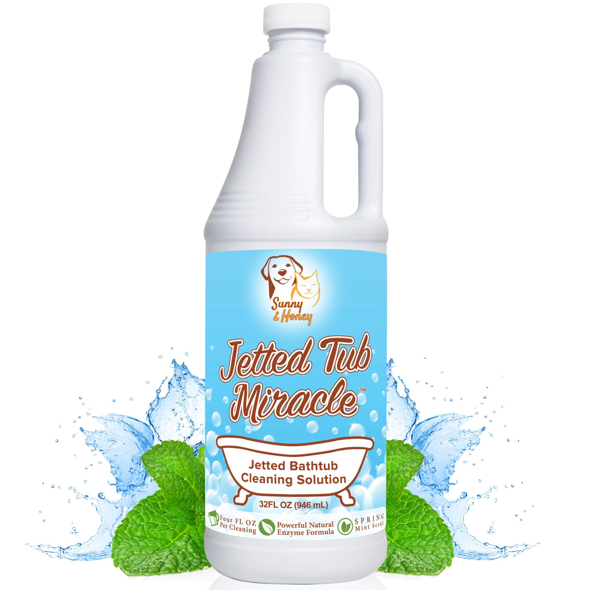 Amazon.com: Oh Yuk Jetted Tub System Cleaner Gallon: Health ...