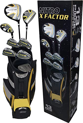 Nitro Golf Xfactor Men s Golf Club Set, Right Hand