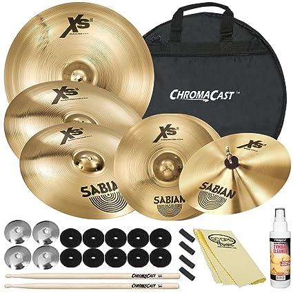 0a005bf9518a Amazon.com  Sabian XS20 Cymbal Set  14