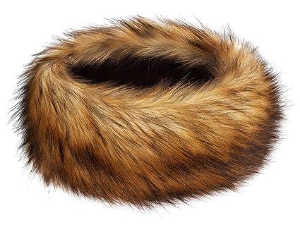 840e99ee9b2 Futrzane Winter Faux Fur Headband for Women and Girls (Honey)  Amazon.ca   Luggage   Bags