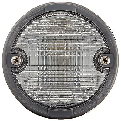 Grote 62011 OE-Style Dual-System Backup Light (Gray Bezel): Automotive