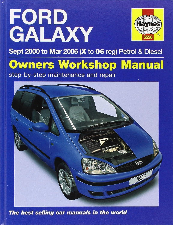 Ford Galaxy Petrol & Diesel Service and Repair Manual: 2000-2006 (Haynes  Service and Repair Manuals): M. R. Storey: Amazon.co.uk: Car & Motorbike