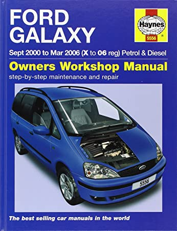 ford galaxy petrol diesel service and repair manual 2000 2006 rh amazon co uk Ford Galaxy Interior Ford Galaxy 7 Seater