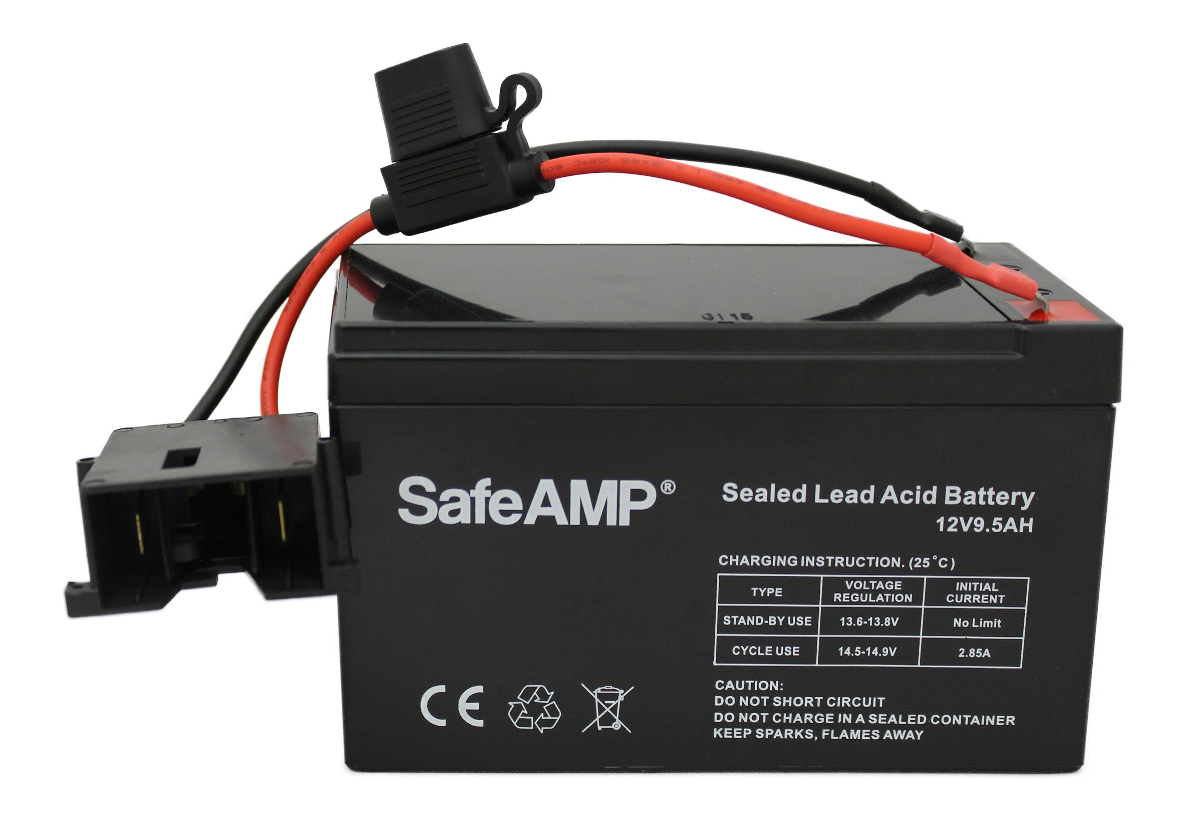 Replacement Battery for Fisher-Price Power Wheels 12-Volt Battery by SafeAMP