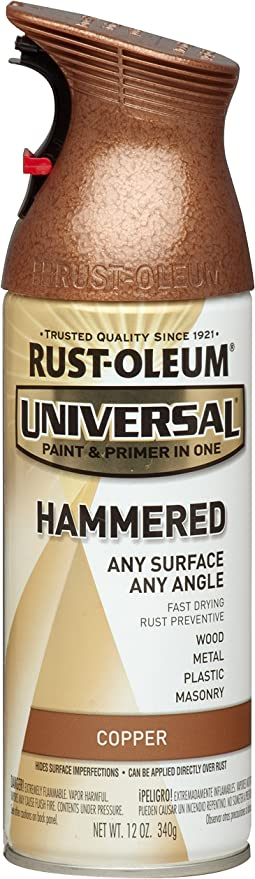 Rust Oleum 247567 Spray Paints 1 Pack Hammered Copper