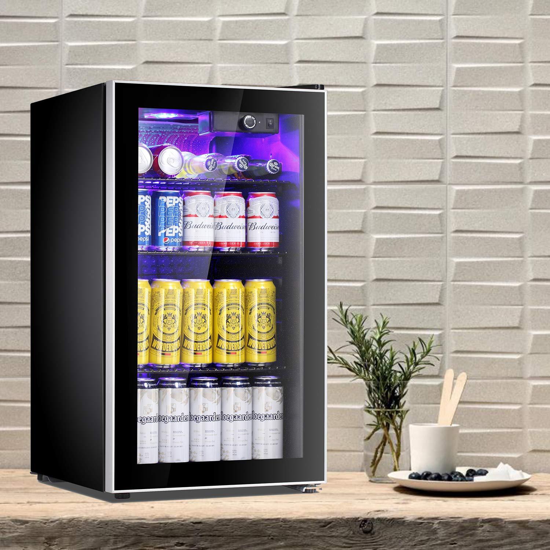 Enfriador de bebidas Antarctic Star, con 60 latas, puerta de ...