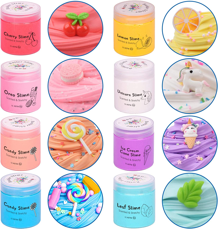 Ulitmate Slime Bundle FREE SHIPPING! Slime Cheap Kawaii slime bundle-fun