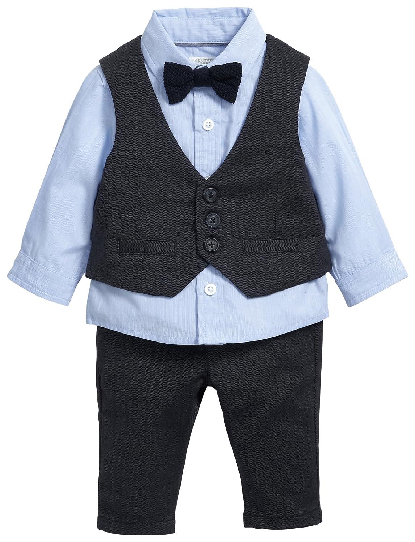 Mamas & Papas Baby-Jungen Anzug and 4 Piece Navy Suit Set