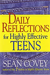 Daily Reflections For Highly Effective Teens Paperback