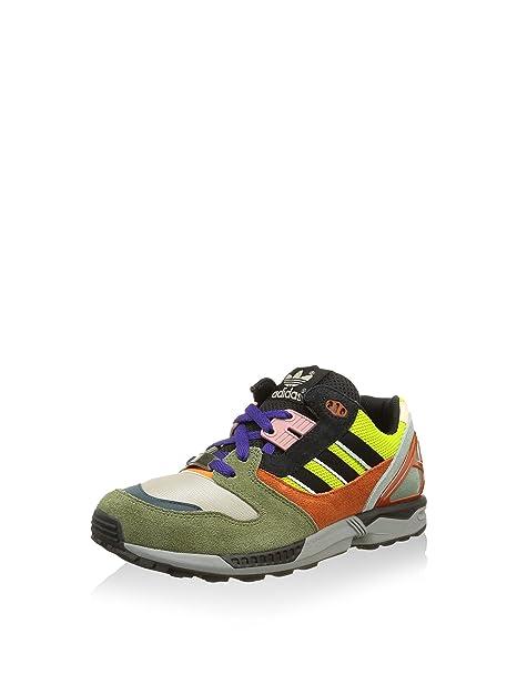 adidas ZX 8000 - Zapatillas para Hombre, Color Verde/Lima/Naranja/Negro, Talla 36: Amazon.es: Zapatos y complementos