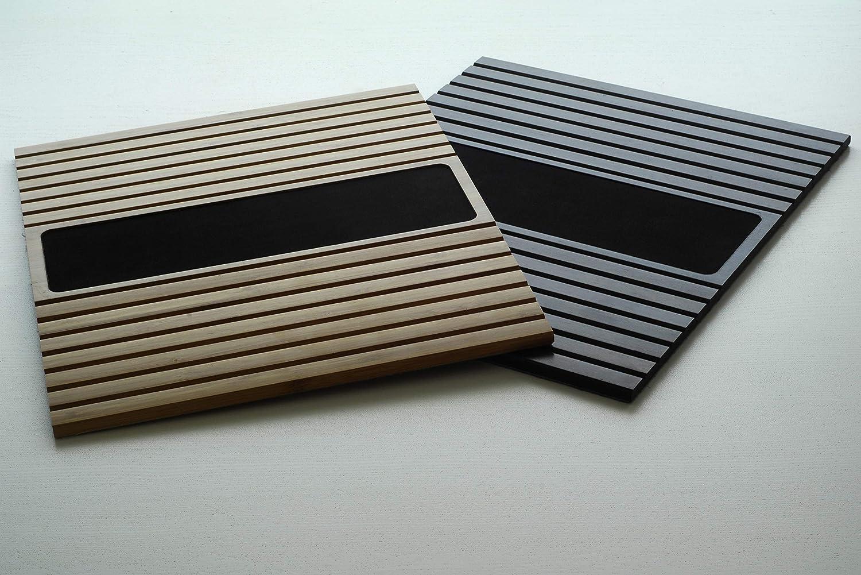 Getr/änkehalter Untersetzer Kos Design Bambus Holz Sofatablett//Sofatisch f/ür Armlehne mit Anti-Rutsch Armlehne Protektor