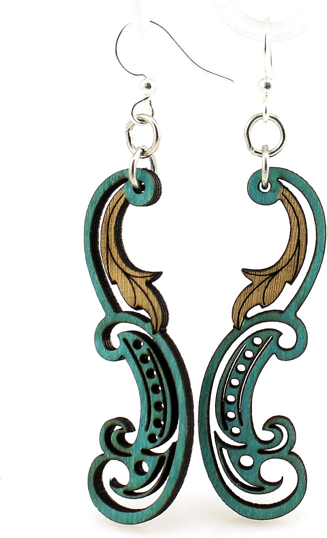 Paisley Leaf Earrings
