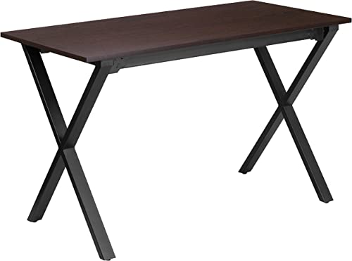 Flash Furniture 47.5''W x 23.75''D Walnut Computer Desk
