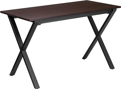 Flash Furniture 47.5''W x 23.75''D Walnut Computer Desk - the best modern office desk for the money