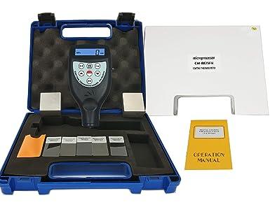 Paint Coating Thickness Meter Gauge Built-in F//NF Probe