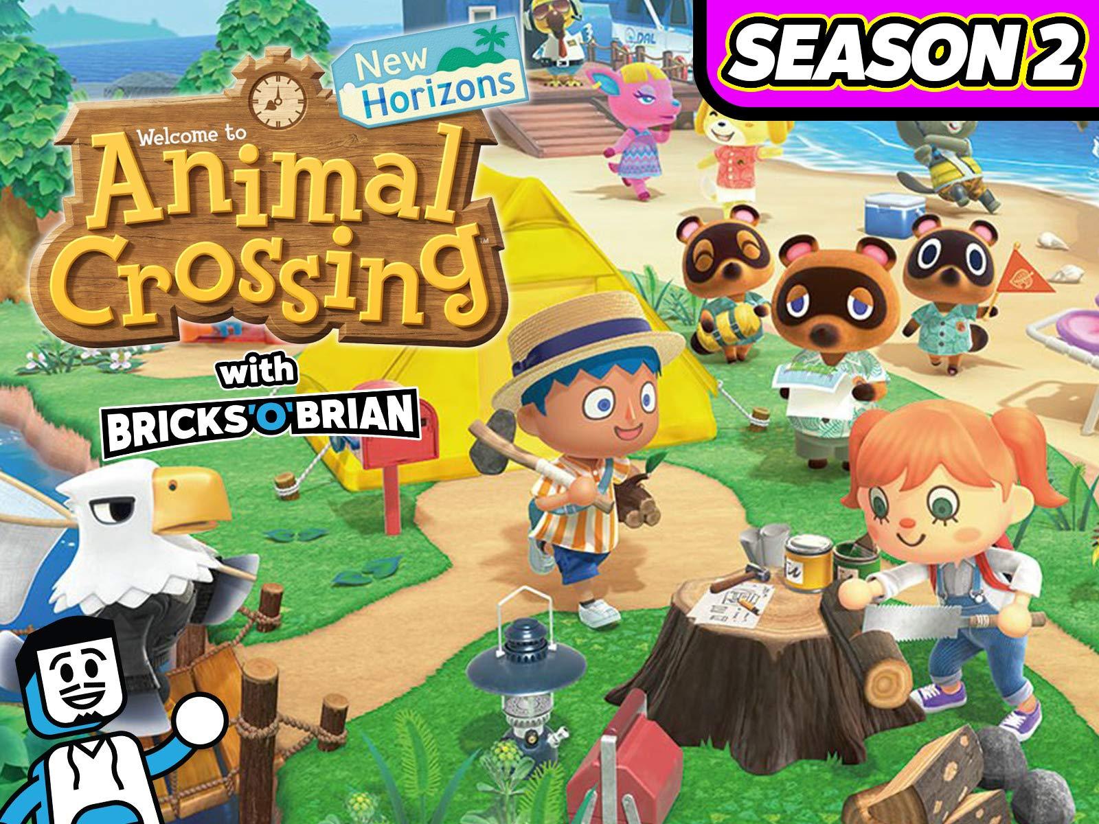 Clip: Animal Crossing New Horizons with Bricks 'O' Brian! - Season 2